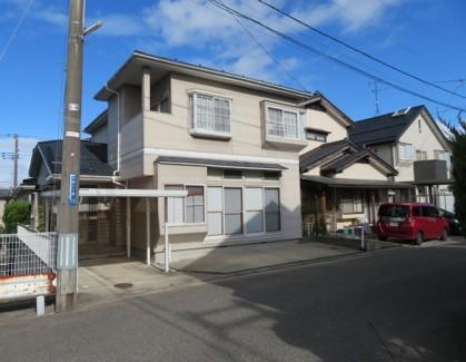 新潟市小針の家一軒まるごとリノベーションビフォー外観