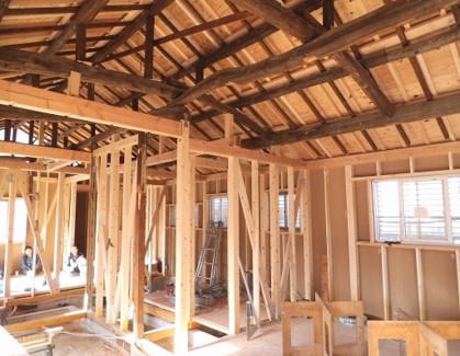 新潟市小針の家一軒まるごとリノベーション構造内観